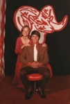 Valerie Butler and Doug Smith  at Homecoming 1971