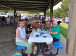 Some attendees of Saturday's picnic